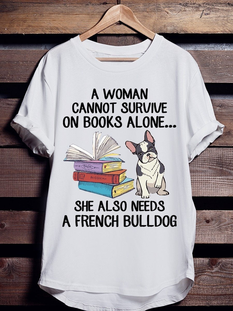 Bulldog - cannot survive on books alone