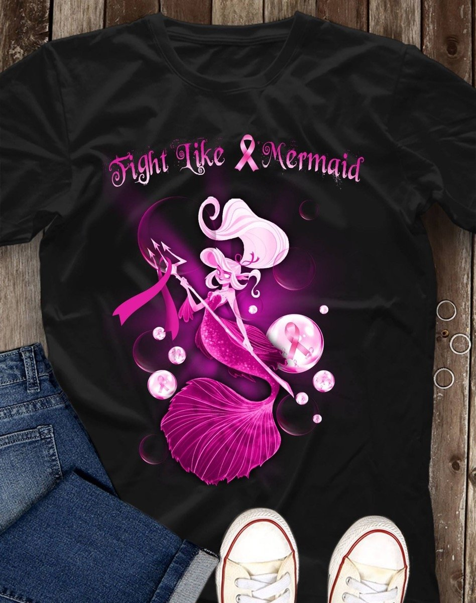 Fight like mermaid