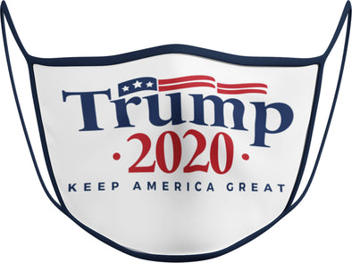 #107 - Face Cover - Trump 2020