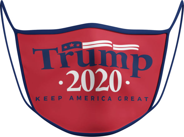 #111 - Face Cover - Trump 2020