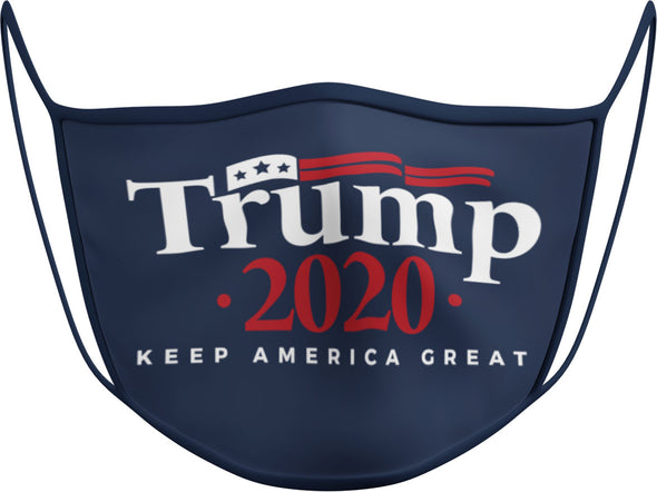 #112 N - Face Cover - Trump 2020