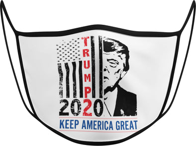 #113 - Face Cover - Keep America Great