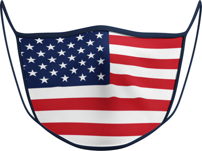 #119 - Face Cover - USA FLAG