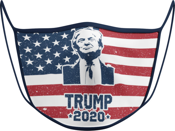 #135 - Face Cover - Trump 2020