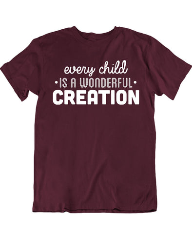 Every Child Is A Wonderful Creation