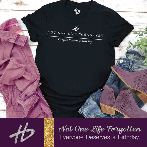 NOT ONE LIFE FORGOTTEN - HEARTBEAT of Miami commemorative T shirt