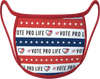 VOTE PRO-LIFE FACE MASK