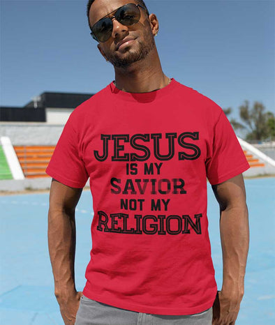 Jesus Is My Savior Not My Religion