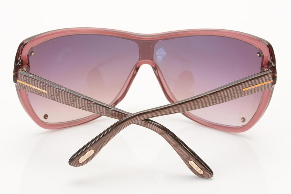 Tom Ford Ekaterina Shield Sunglasses ACCESSORIES Tom Ford