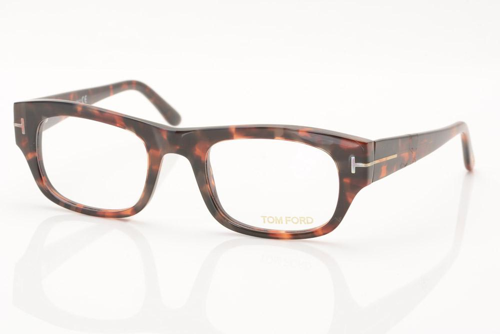 Tom Ford Square Plastic Optical Eyeglass Frame ACCESSORIES Tom Ford Default Title
