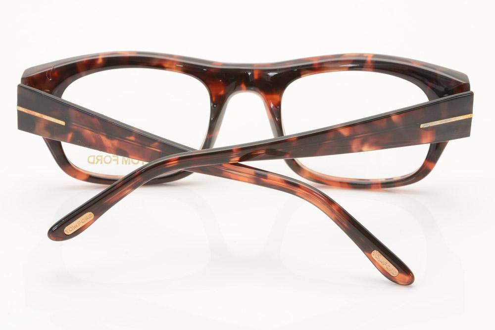 Tom Ford Square Plastic Optical Eyeglass Frame ACCESSORIES Tom Ford
