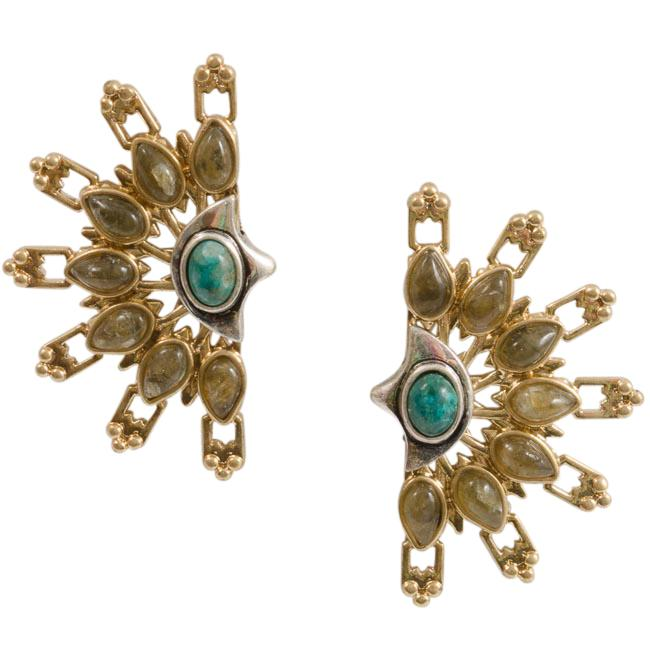 Lulu Frost Marjorelle Earrings JEWELRY Lulu Frost Gold
