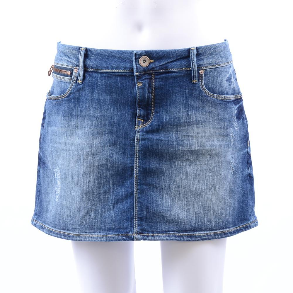 Mavi Jeans Mini Skirt - Large APPAREL Mavi Jeans Large Blue