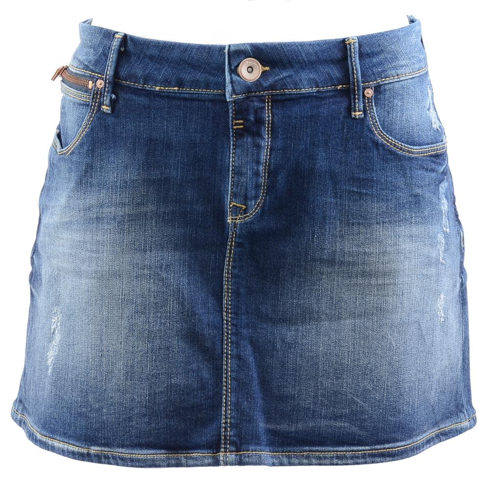 Mavi Jeans Avril Jean Skirt - L APPAREL Mavi Jeans Large Blue