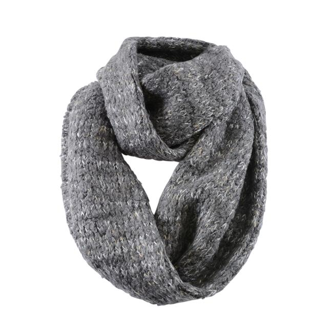 Echo Design Knit Infinity Scarf ACCESSORIES Echo Design Gray