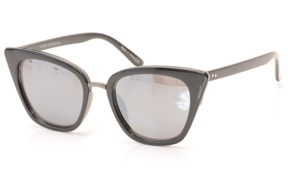 Joe's Cat's Eyes Frame Sunglasses ACCESSORIES Joe's 52-22-139 Black