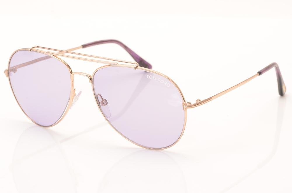 Tom Ford Indiana Aviator Sunglasses ACCESSORIES Tom Ford Gold