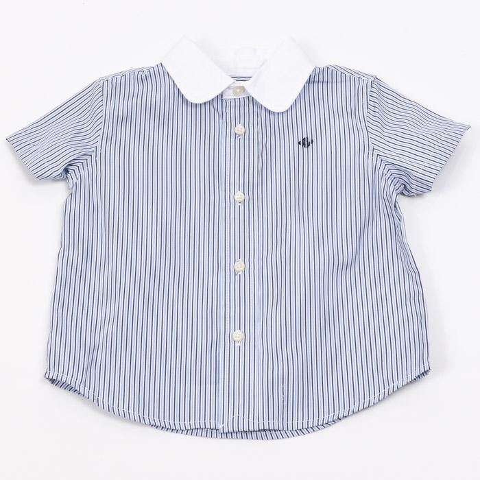 Boys' Ralph Lauren Button Down Shirt - 12M APPAREL Ralph Lauren 12 Months Blue