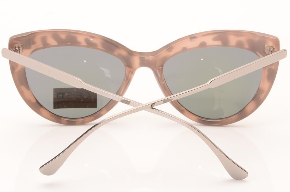 Joe's Mirrored Cat's Eyes Pattern Frame Sunglasses ACCESSORIES Joe's