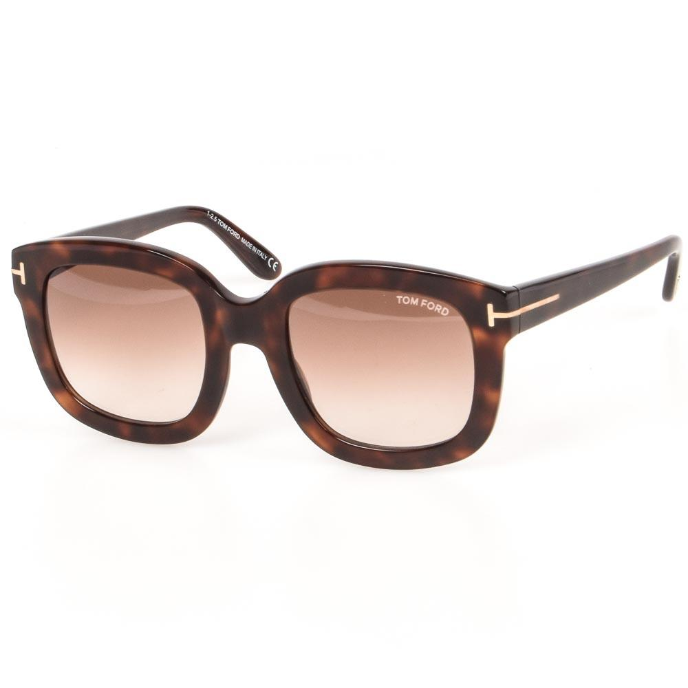Tom Ford Christophe Square Sunglasses ACCESSORIES Tom Ford Brown