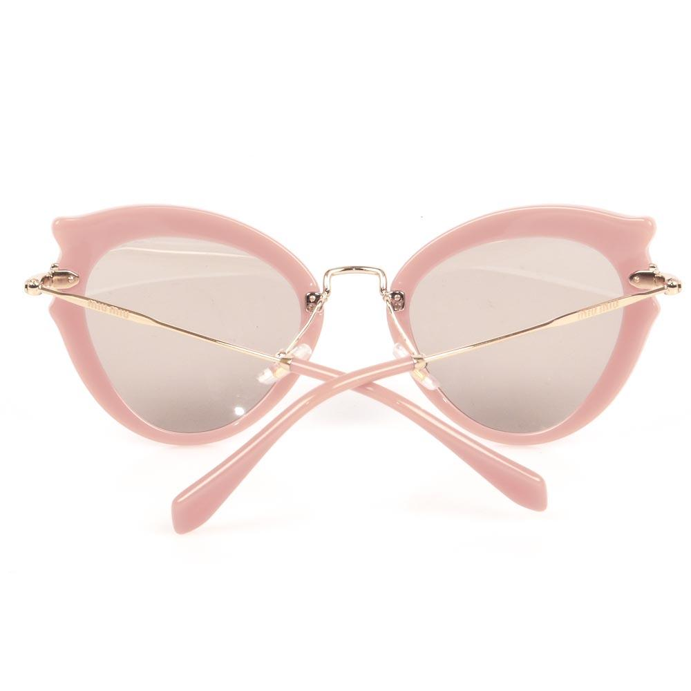 Miu Miu Ocher Cat's Eyes Sunglasses ACCESSORIES Miu Miu