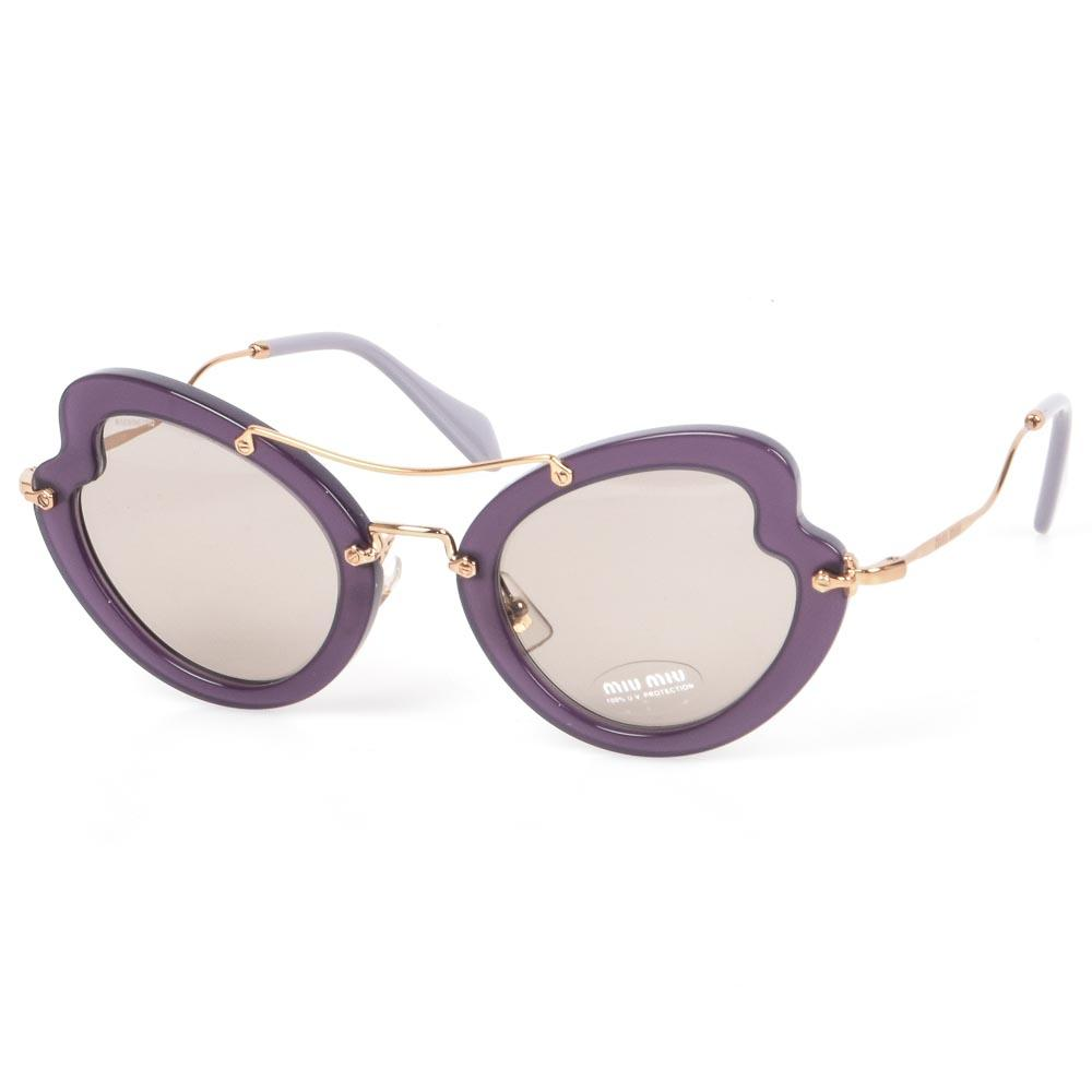 Miu Miu Butterfly Frame Sunglasses ACCESSORIES Miu Miu Purple
