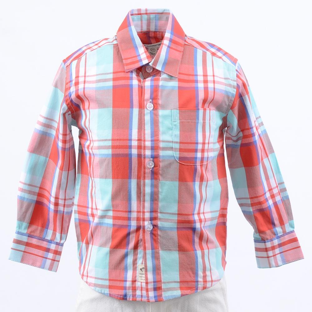 Boys' Appaman Button Down Shirt Top APPAREL Appaman 2T Red