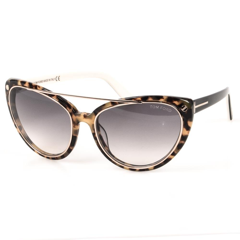 Tom Ford Edita Sunglasses ACCESSORIES Tom Ford Brown