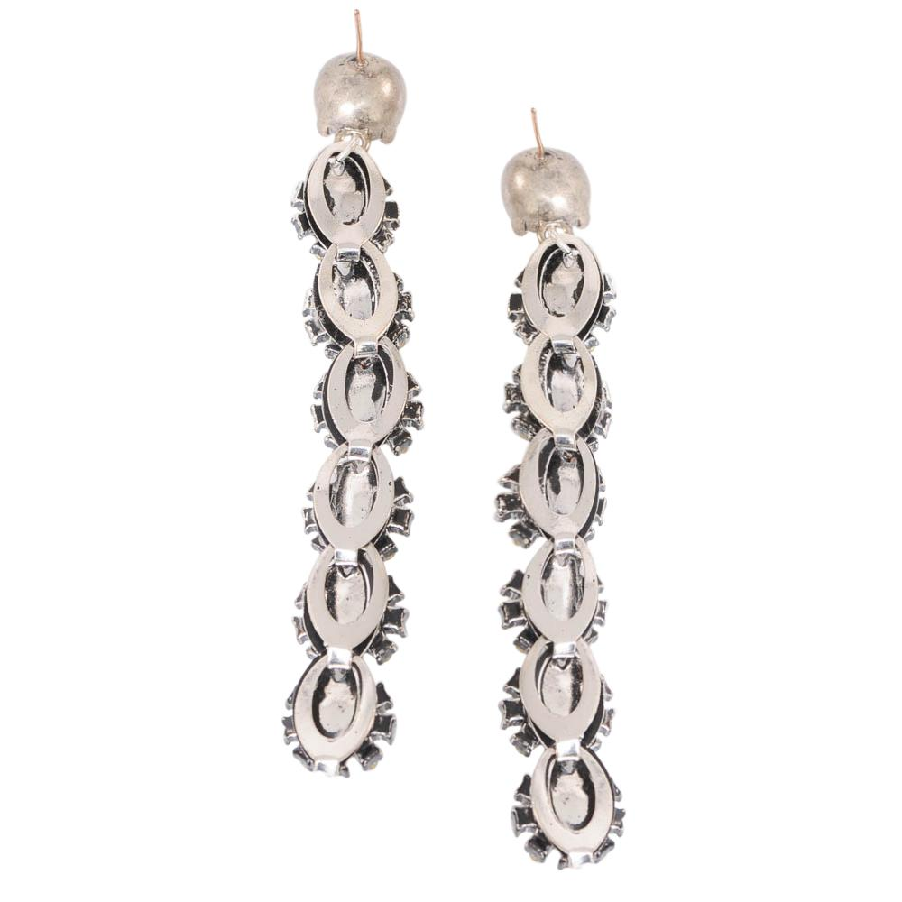 Lulu Frost Royale Crystal Linear Drop Earrings JEWELRY Lulu Frost