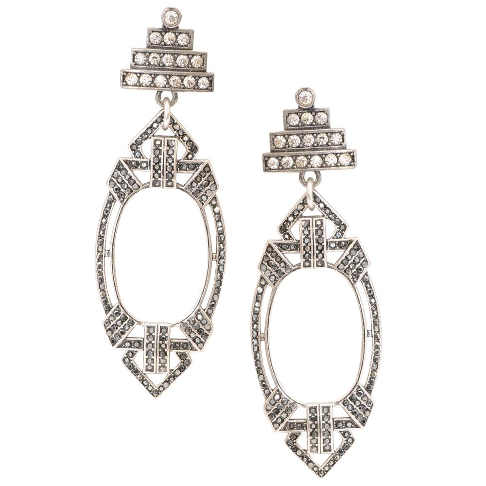 Lulu Frost Crystal Lillet Dangle Earrings JEWELRY Lulu Frost Default Title