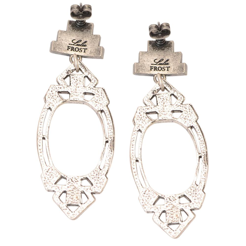 Lulu Frost Crystal Lillet Dangle Earrings JEWELRY Lulu Frost