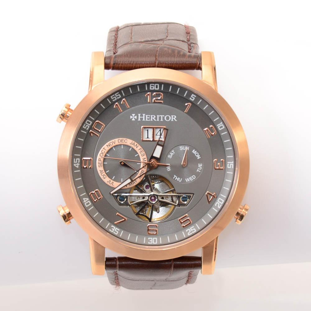 Heritor Edmond Skeleton Automatic Mens Watch JEWELRY Heritor Default Title