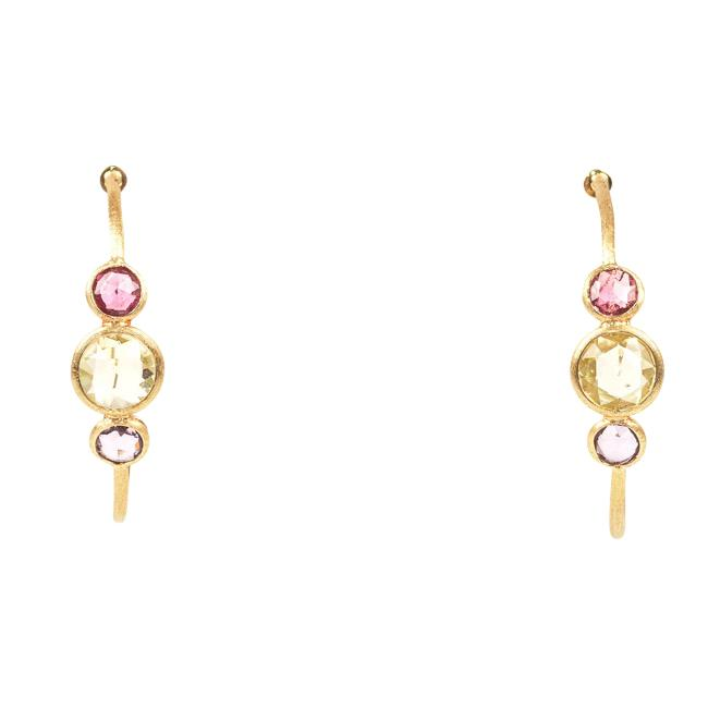 Marco Bicego 18k Yellow Gold Hoop Earrings JEWELRY Marco Bicego