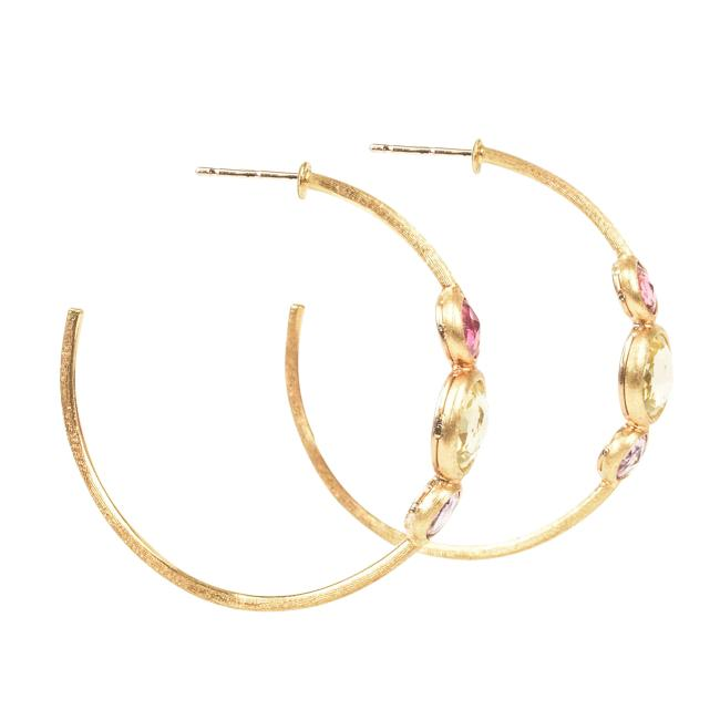 Marco Bicego 18k Yellow Gold Hoop Earrings JEWELRY Marco Bicego Gold