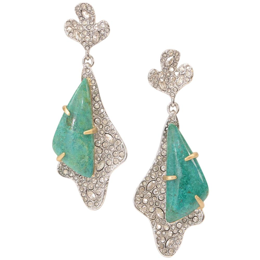 Alexis Bittar Alexis Bittar Crystal Encrusted Roxbury Drop Earrings JEWELRY Alexis Bittar