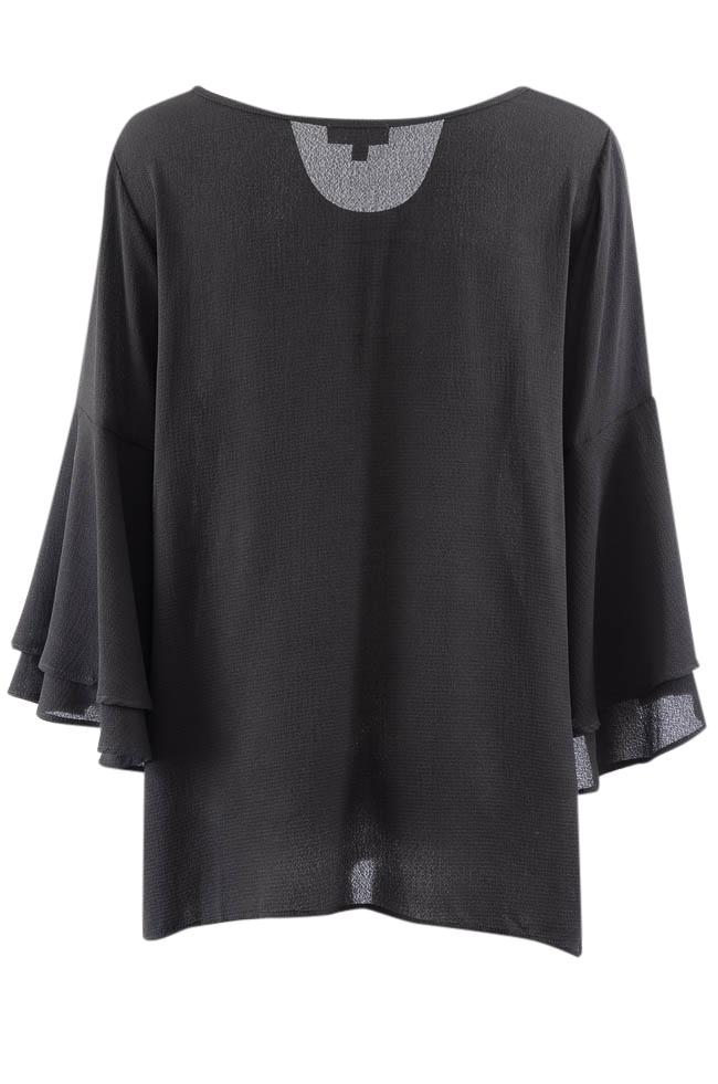 Status By Chenault V-Neck Bell Sleeve Tunic Top - XL APPAREL Status by Chenault