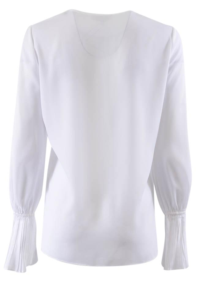 Le Gali Pleated Cuffs Long Sleeve Top - S APPAREL Le Gali
