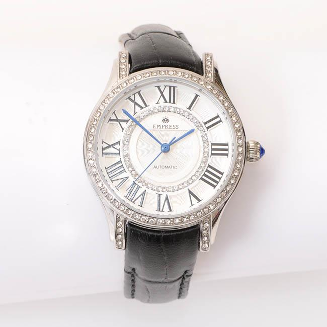 Empress Xenia Automatic Crystal Trim Dial Ladies Watch JEWELRY Empress Default Title
