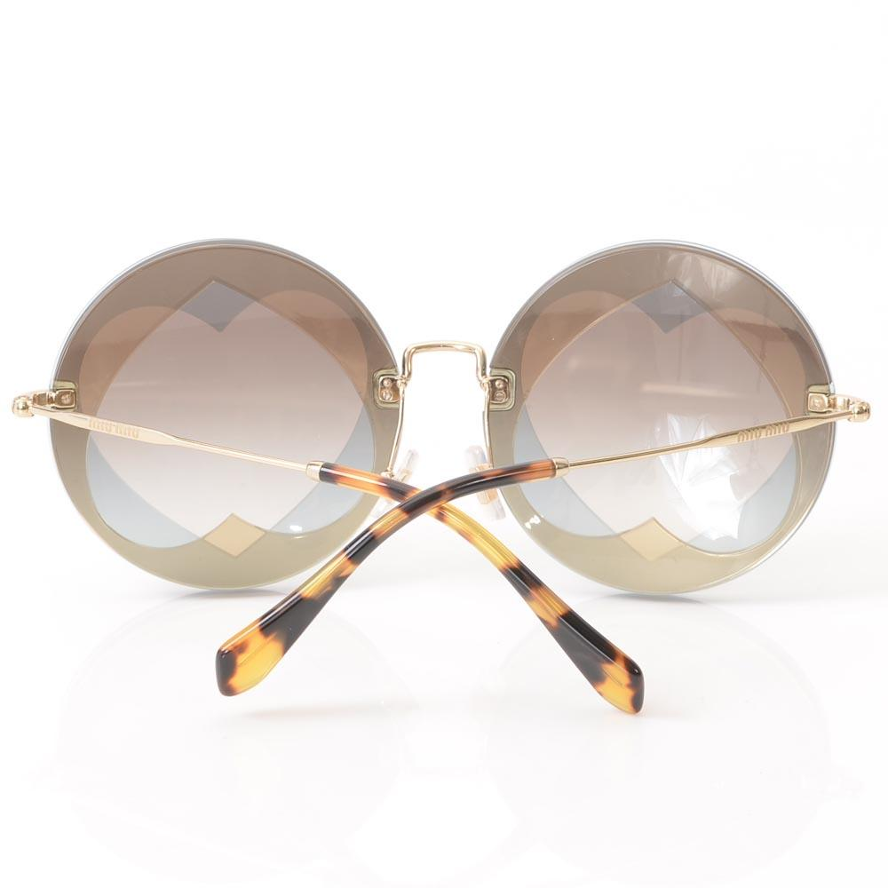 Miu Miu Cutout Sunglasses ACCESSORIES Miu Miu