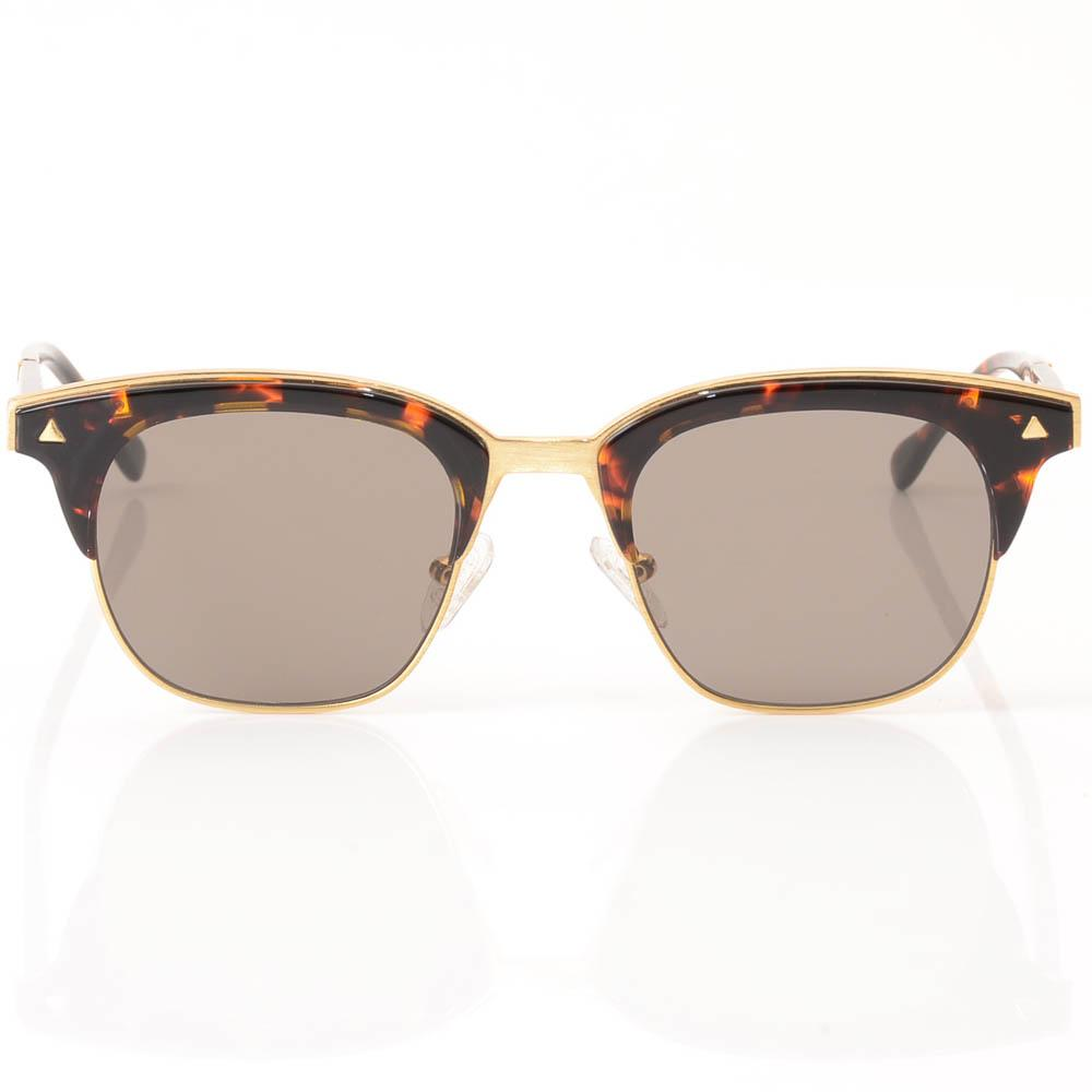 Valley Larynx Tortoise Semi-rimless Cat Eye Sunglasses ACCESSORIES Valley