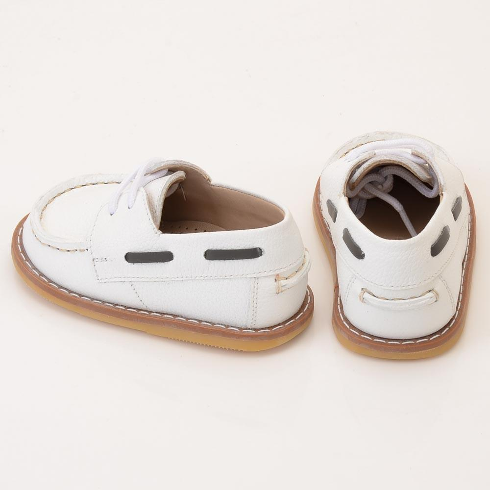 Baby Girls' Petits Marcheurs Boat Shoe - 5 SHOES Petits Marcheurs