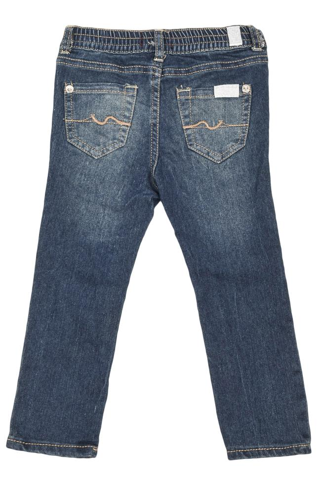 Girls' 7 For All Mankind 5 Pocket Jeans - 24M APPAREL 7 For All Mankind