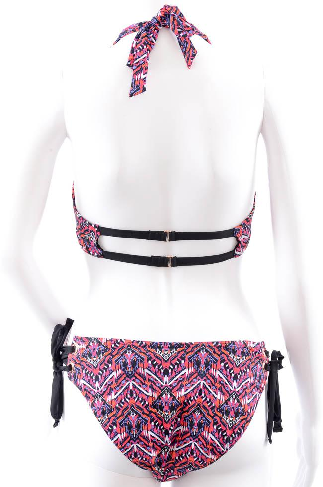 Tart Collections 2 Piece Strappy Printed Bikini Set - M APPAREL Tart Collections