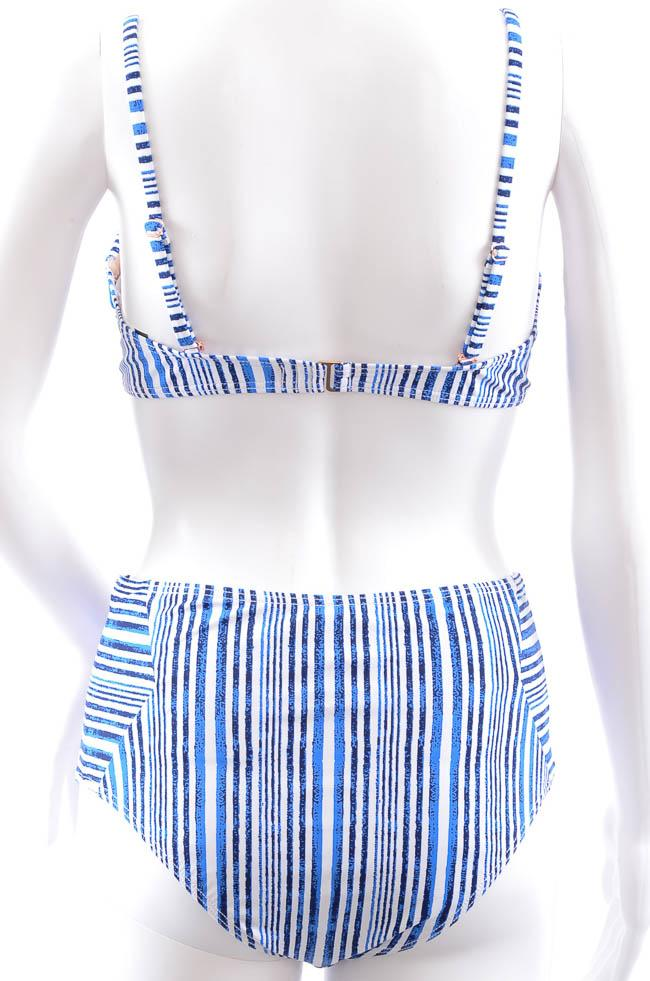 Tart Collections 2 Piece High Waisted Stripe Bikini Set - M APPAREL Tart Collections