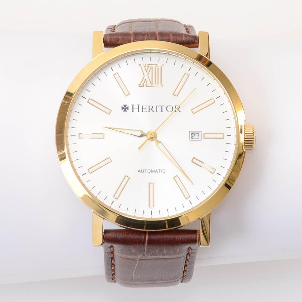 Heritor Gold-tone Stainless Steel Automatic Watch JEWELRY Heritor Default Title