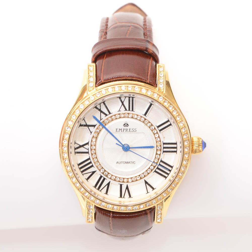 Empress Xenia Automatic Crystal Dial Ladies Watch JEWELRY Empress Default Title