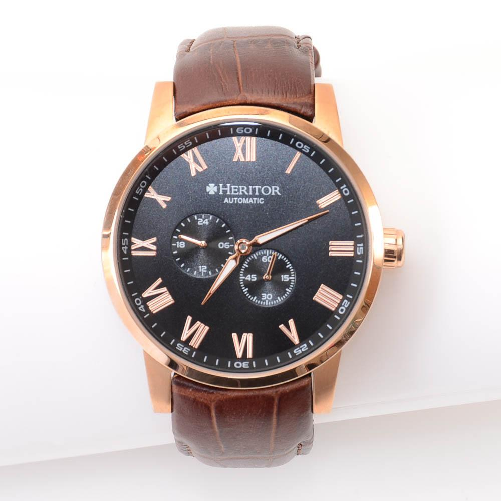 Heritor Romulus Automatic Rose-Gold Tone Watch JEWELRY Heritor Default Title