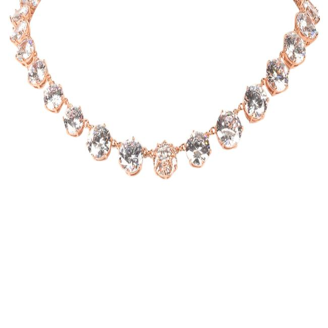 Blue by Betsey Johnson Crystal Statement Necklace JEWELRY Blue by Betsey Johnson Pink