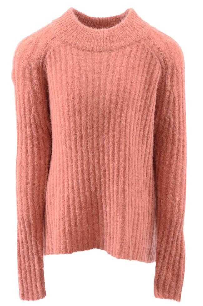 Girls' Molo Gertrude Knitted Pullover Sweater - 7/8 APPAREL Molo 7/8 Pink