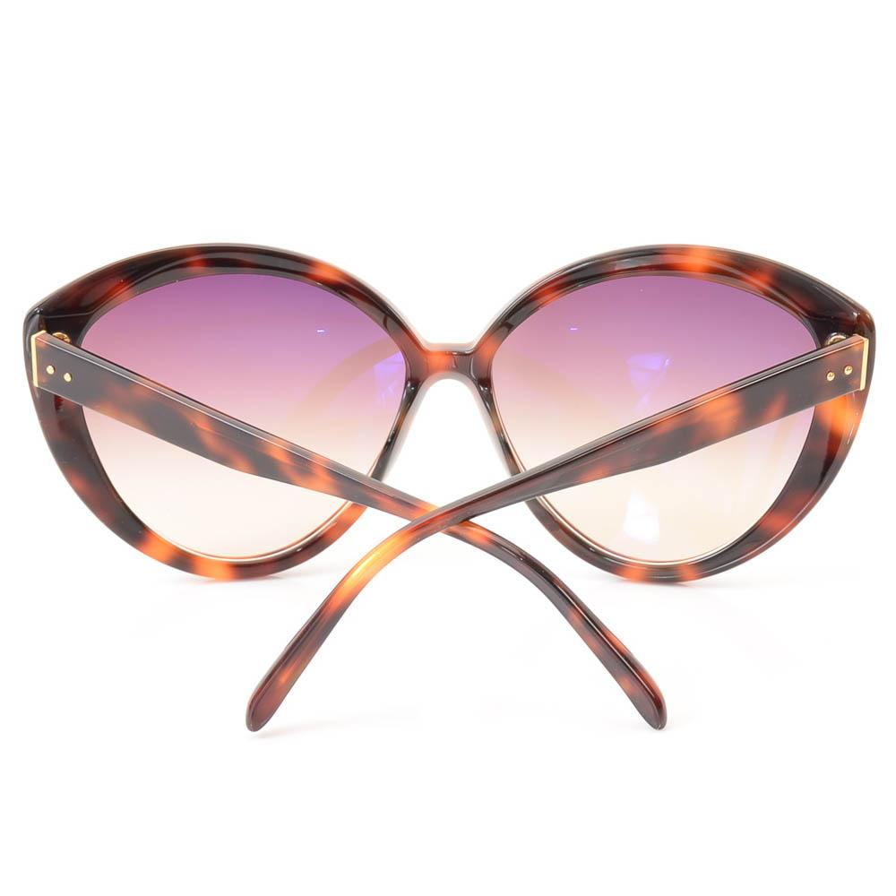 Linda Farrow Havana Cat Eye Sunglasses ACCESSORIES Linda Farrow